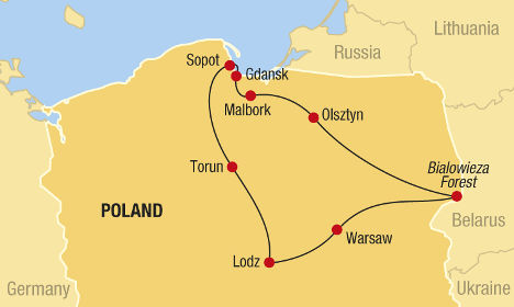 Central & Northern Poland
