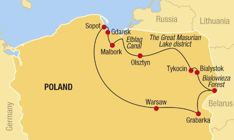Explore Wild and Multicultural Poland